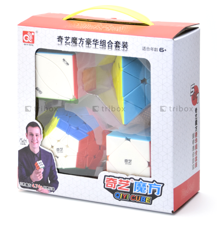QiYi Gift Box P-S-M-I Stickerless