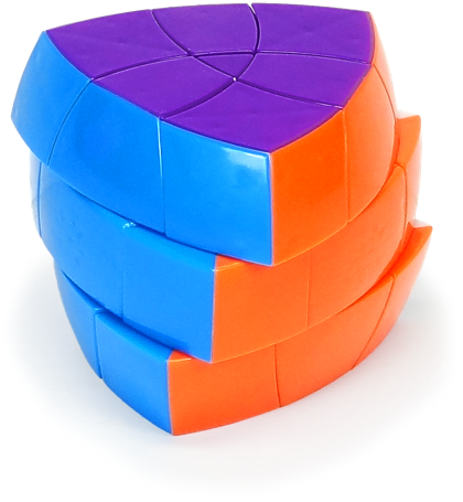 DaYan 3 Layered Pentahedron Stickerless
