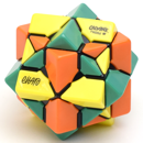 Calvin's Eitan's 3 Colors TriCube (Yellow-Green-Orange)