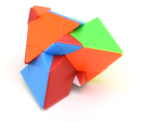 FangShi LimCube Transform Pyraminx Clear (Rhombohedron)