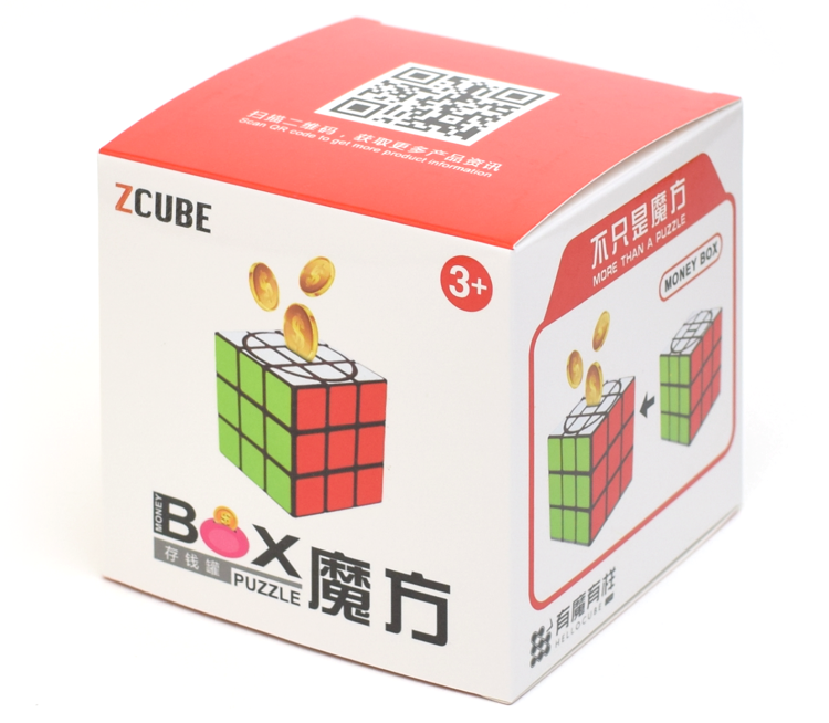 Z-CUBE Money Box
