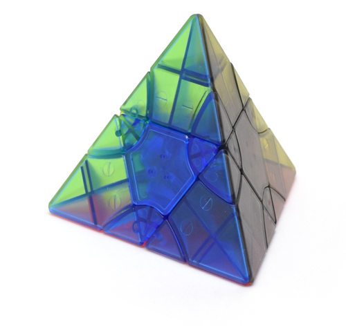 FangShi LimCube Transform Pyraminx Clear (Standard)