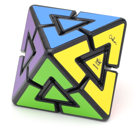 Meffert's 8 Colors Pyraminx Diamond