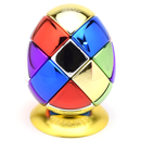 Meffert's 6 Colors Metalised Egg 3x3x3