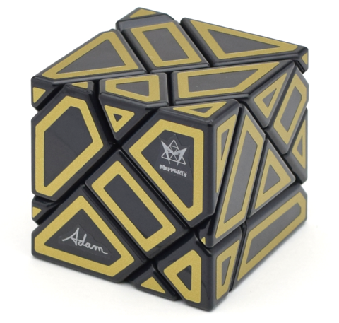 Meffert's Ghost Cube with Hollow Stickers