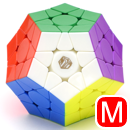 X-Man Design Megaminx Galaxy V2 M Stickerless (Concave)