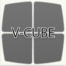 V-CUBE 2 Pillow triboxステッカー