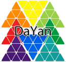 DaYan Octahedron triboxステッカーセット