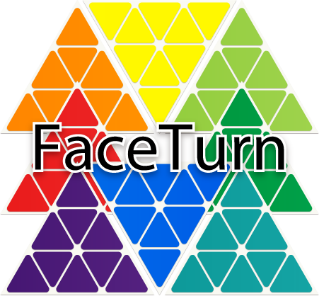 Face Turn Octahedron triboxステッカーセット