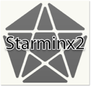 Starminx 2 triboxステッカー