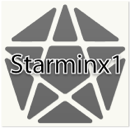 Starminx 1 triboxステッカー