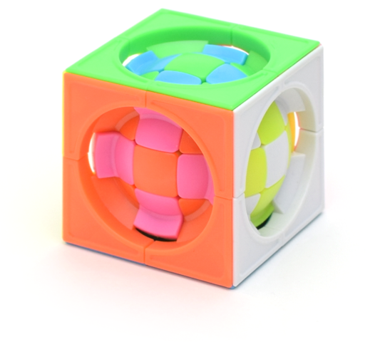 FangShi LimCube Deformed 3x3x3 Centrosphere (6 Colors)