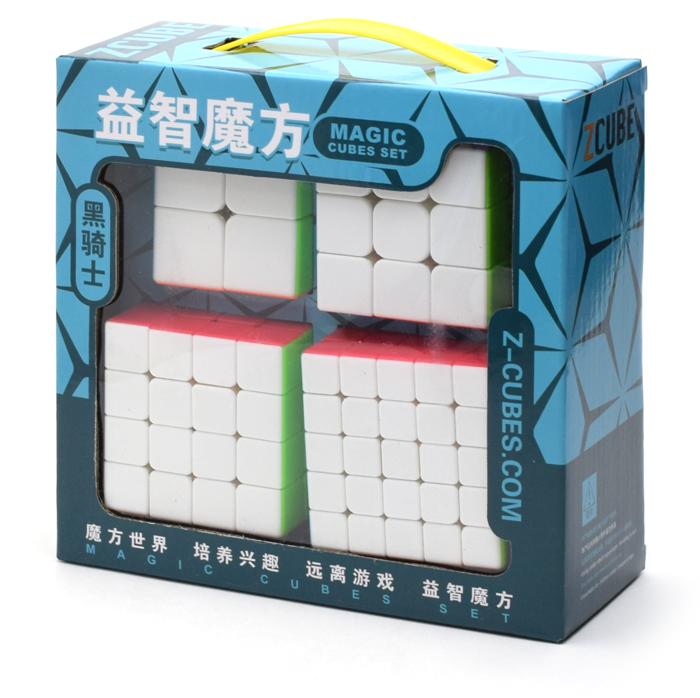 Z-CUBE Gift Box 2-3-4-5 Stickerless