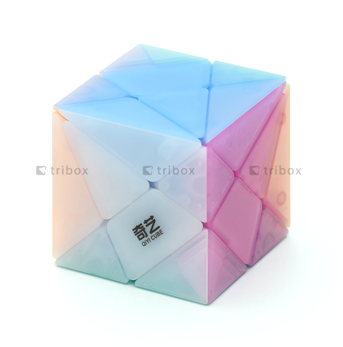 QiYi Axis Cube Jelly Cube Edition