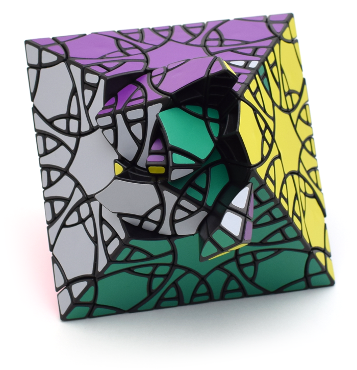 VeryPuzzle Clover Octahedron Fragmentation