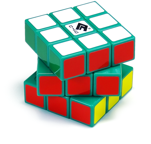Cube4You 3x3x3 緑素体