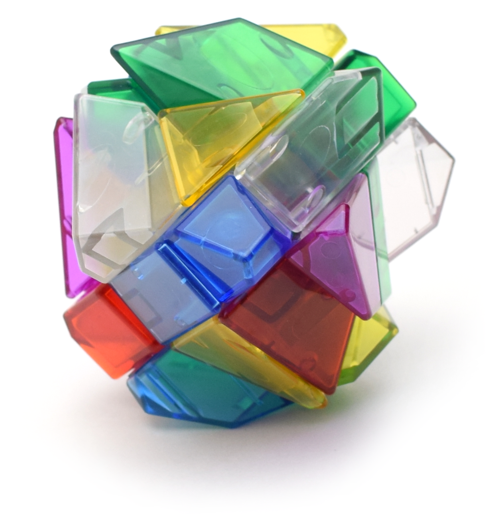 Ninja 6 Colors Ghost Cube