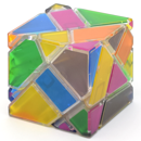 Ninja 6 Colors Ghost Cube with Stickers