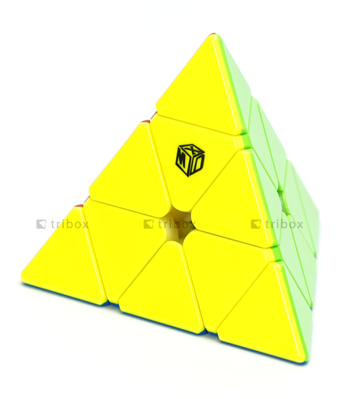 X-Man Design Magnetic Pyraminx Bell V2 Stickerless