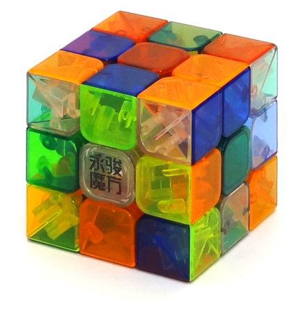 YJ YuLong 3x3x3 Stickerless Clear