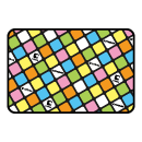 tribox Mat mini (Tilted Cube) Pastel Black