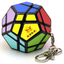 Meffert's Skewb Ultimate Keychain