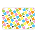 tribox Mat mini (Tilted Cube) Pastel White