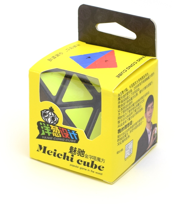 Onion Cubes Pyraminx MeiChi Stickerless