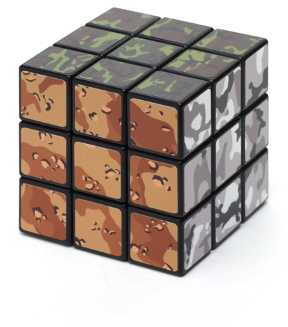 [DIY] Camouflage Cube