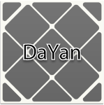 DaYan Master Skewb triboxステッカー