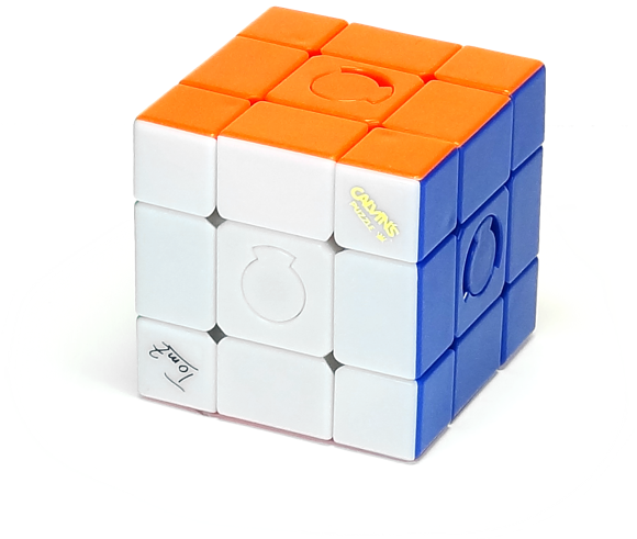 Calvin's Constrained Cube Stickerless