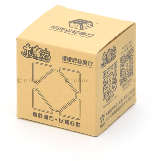 YuXin Little Magic Skewb Stickerless