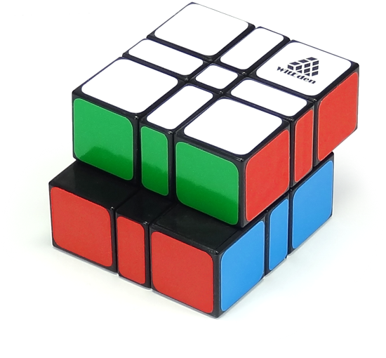 3x3x2 Camouflage Cube