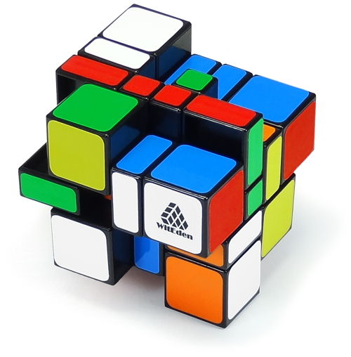 3x3x4 Camouflage Cube