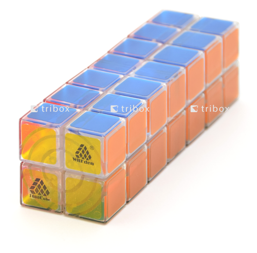 WitEden 1688Cube 2x2x7 Cuboid Clear