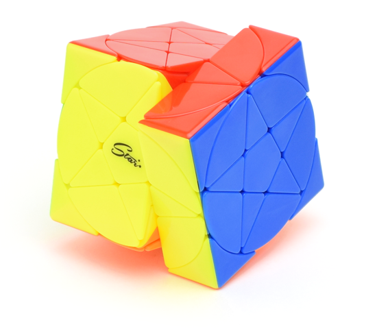 QiYi Pentacle Cube Stickerless