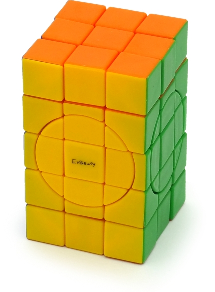 Calvin's Crazy 3x3x5 Cube Stickerless