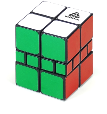 2x2x3 Camouflage Cube 2