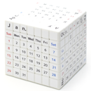 tribox 7x7x7 Calendar English