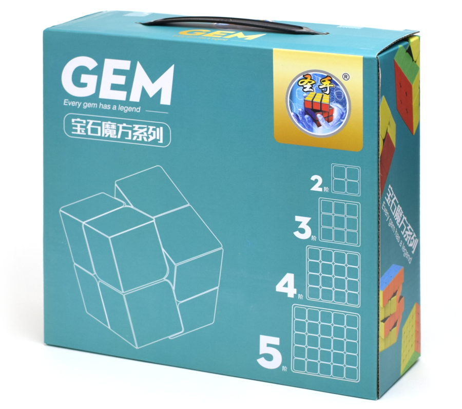 ShengShou Gem Set 2-3-4-5 Stickerless
