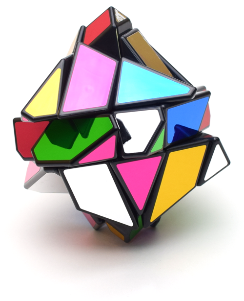 6 Colored Ghost Cube TORIBOステッカーセット