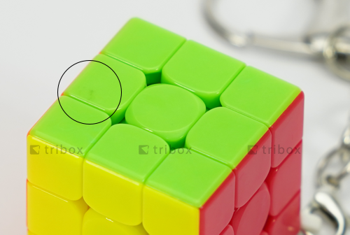 V-CUBE 3 Pillow Keychain Stickerless