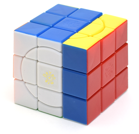 mf8+DaYan Crazy 3x3x3 with 2 Circles