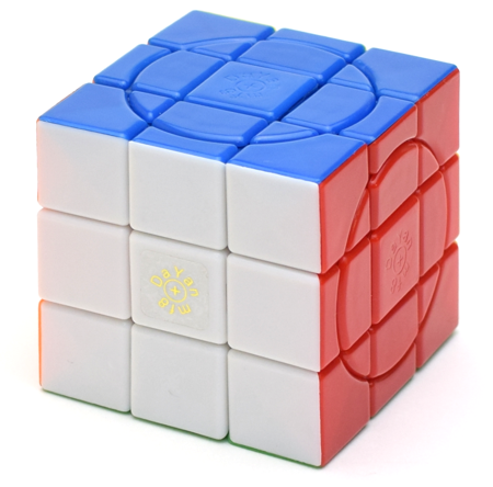 mf8+DaYan Crazy 3x3x3 with 4 Circles
