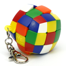Meffert's Pillowed 3x3x3 Keychain Stickerless